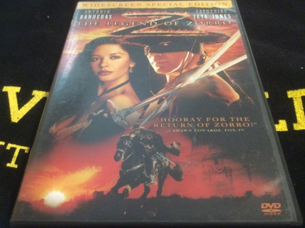 """Action Movie DVD """"The Legend of Zorro"""" Wide Screen Special Edition: Send Prepaid Label for Shipping"""