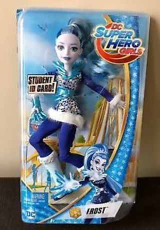"""NEW DC Super Hero Girls Frost Action Doll, 12"""" FREE SHIPPING"""