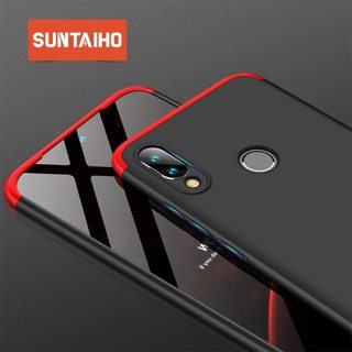 Suntaiho 360 Degree PC Matte Protective Phone Case For Xiaomi Mi 9 8 Full Cover Shockproof Shell For