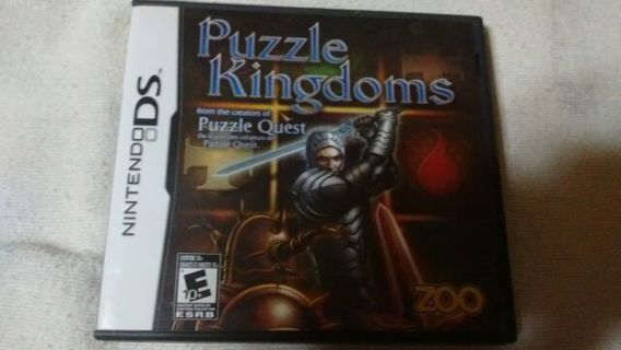 Nintendo DS Puzzle Kingdoms