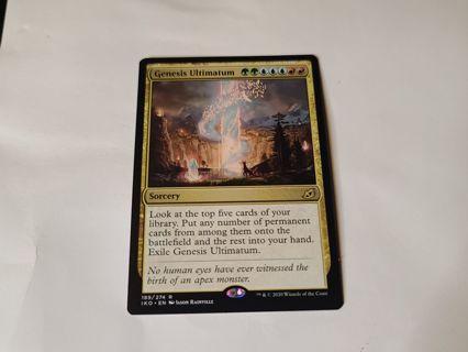 Magic the gathering mtg Genesis Ultimatum Ikoria rare card