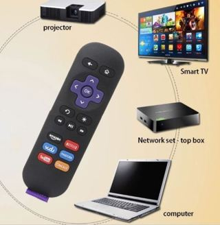 Replacement IR Streaming Media Player Remote Control For ROKU 2 3 4 LT HD XD XS