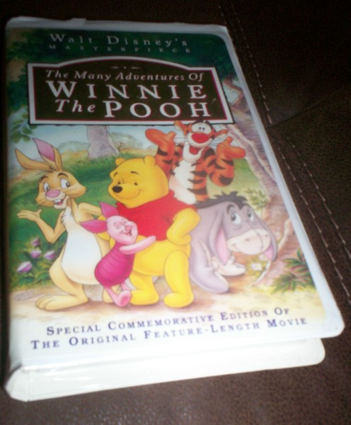 Free: *~Disney The Many Adventures Of Winnie The Pooh VHS