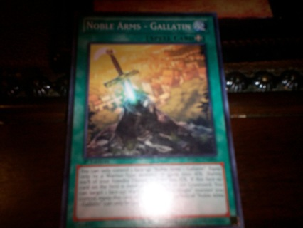 new yu-gi-oh noble arms-gallatin spell card