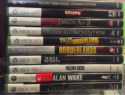 Lot of 10 Xbox 360 games