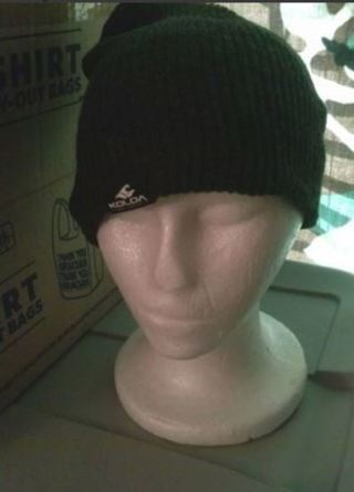 1 NEW Surf Company Beanie Hat Grey FREE SHIPPING
