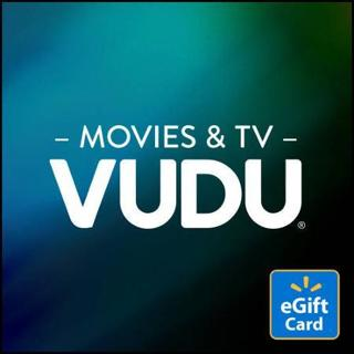 $5. VUDU GIFT CODE (GREAT FOR MOVIE LOVERS)