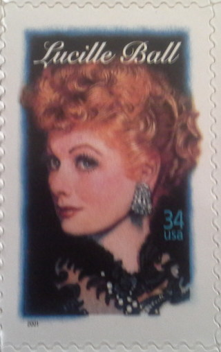 Lucille Ball 33 cent stamp out-of-print
