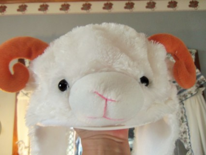 New Soft & Fluffy Warm Ram Hat Teen/ Adult