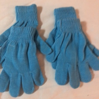 Buy one Get One Free. Blue Knitted Children's  Glove