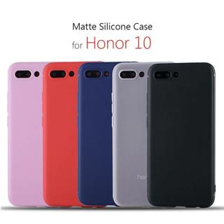 """huawei Honor 10 case silicone cover 5.84"""" Slim tpu case for honor 10 coque etui hoesje capa on 360"""