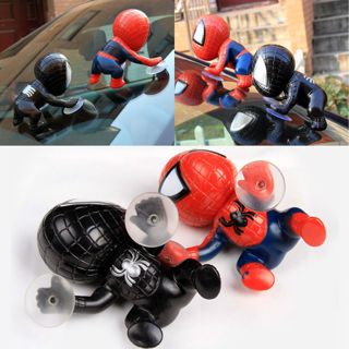 Spiderman 360 Degree Rotating Cute Climbing Suction Cup Doll Toy for Car Decoration