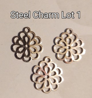 Surgical Steel 3 Charm Lots (Your Choice)