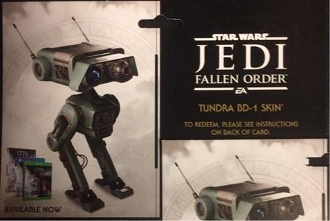 Code for Tundra BD-1 skin for Star Wars Jedi Fallen Order