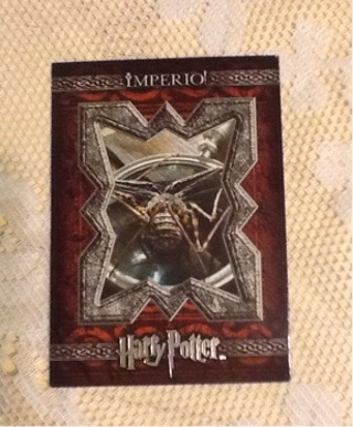 Harry Potter Imperio! Movie Card