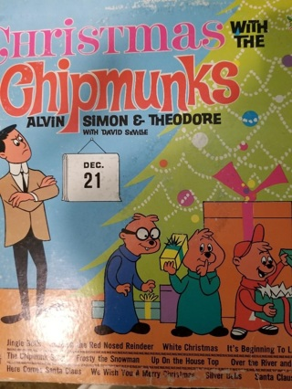 Christmas with the Chipmunks; Alvin, Simon and Theodore, with David SeVille