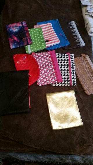 Various Makeup Bags - Including IPSY & LipMonthly