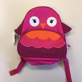 Girls Small Owl Backpack New With Tags