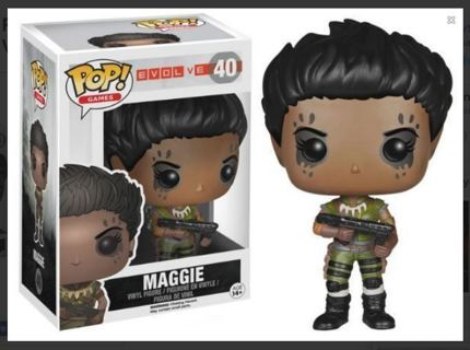 NEW Funko Pop Video Games EVOLVE Maggie Action Figure Vinyl Toy FREE SHIPPING