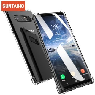 Suntaiho Shockproof Clear Silicone Case For Samsung Galaxy S10 S9 S8 J7 J5 PRIME 2017 J4 J6 J8 A5 A6