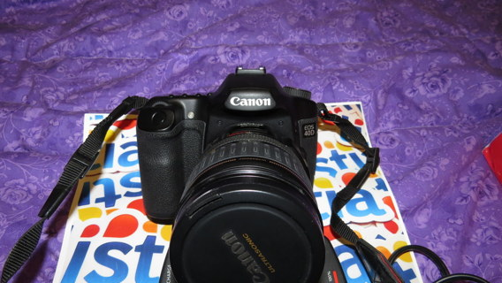 Professional!!! Canon EOS 40D 10.1MP Digital SLR CameraBody With Interchangeable Lens