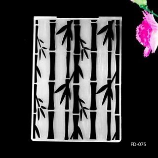 New Arrival Scrapbook Bamboo design DIY Paper cutting dies SCRAPBOOKING PLASTIC