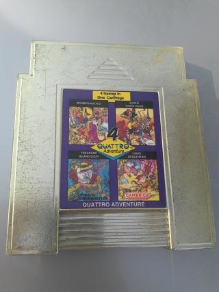 RARE 4 Quattro Adventure NES Game with Slots A & B