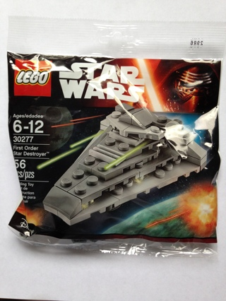 Lego Star Wars First Order Star Destroyer #30277 ~ 56 Pcs ~ NEW ~ NIP