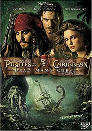 Pirates of the Caribbean Dead Man's Chest dvd widescreen