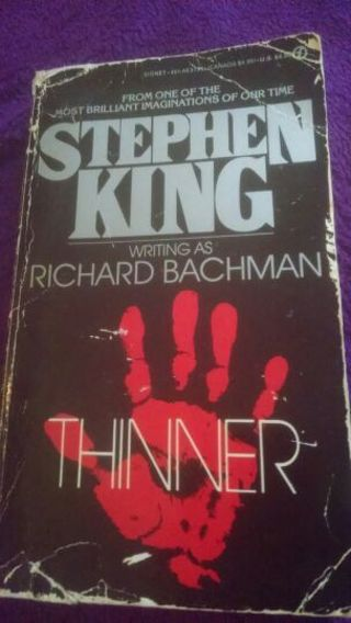 """Stephen King """"Thinner"""""""