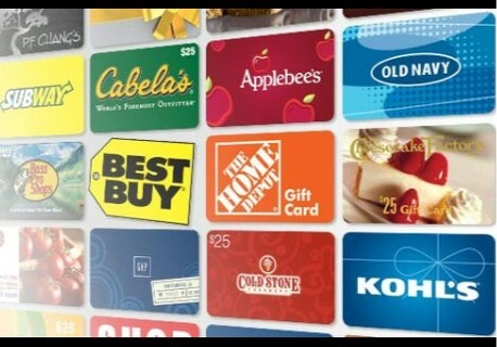 10$ Dollar Gift Card Of Your Choice- GIN Available