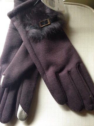New Mahogany Touch Screen Gloves