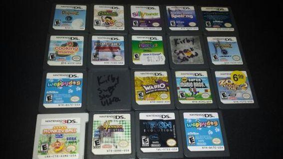 Lot of (19) Nintendo DS games