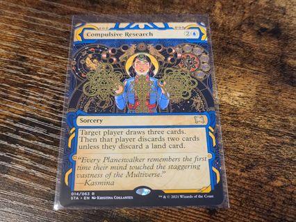 Magic the gathering mtg Compulsive research card strixhaven