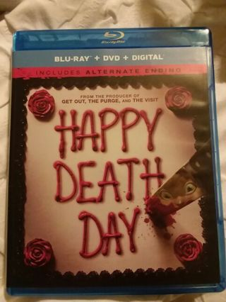 Happy Death Day Blu ray and DVD combo