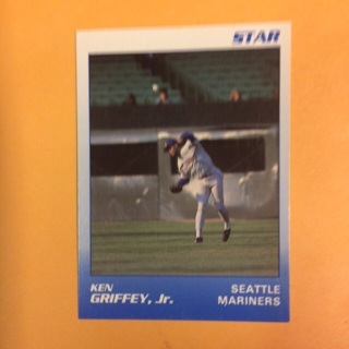 1989 Star #11 of 11 OF Ken Griffey Jr - Mariners