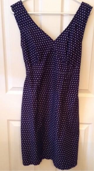Navy Blue Summer Dress