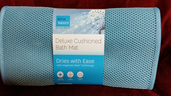 Free New Adaptivair Mesh Deluxe Cushioned Bath Mat Other Home