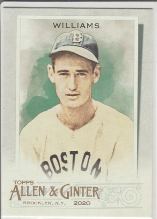 2020 ALLEN & GINTER TED WILLIAMS CARD