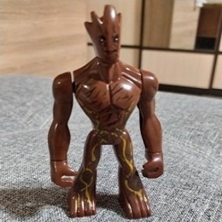 New Big Groot Super Heroes Minifigure Building Toys Custom Lego