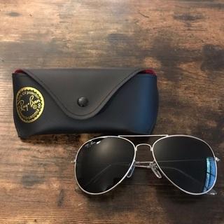 Rayban Aviator Sunglasses Plus Case