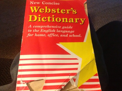 NEW CONCISE WEBSTER'S DICTIONARY