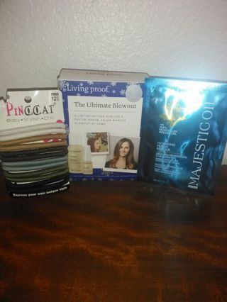 BRAND NEW HAIR PRODUCTS :-) GREAT STOCKING STUFFERS !!