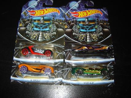 free nips hot wheels 2016 halloween set 4 cars