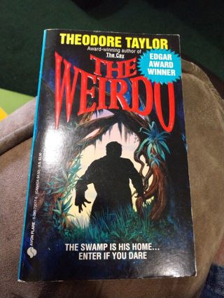 The Weirdo by Theodore Taylor (paperback)