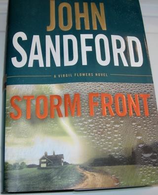 John Sandford, Storm Front, Hardcover, $27.95 value