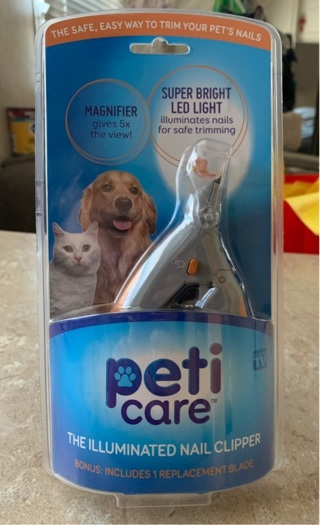 Peti Care The illuminated nail clipper dogs and cats