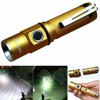 3000Lm 3-Mode CREE XPE Q5 LED Aluminum 18650 Mini Protable Flashlight Torch Lamp
