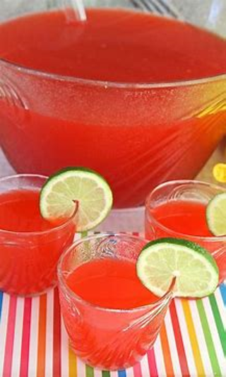 7 + party drink recipes