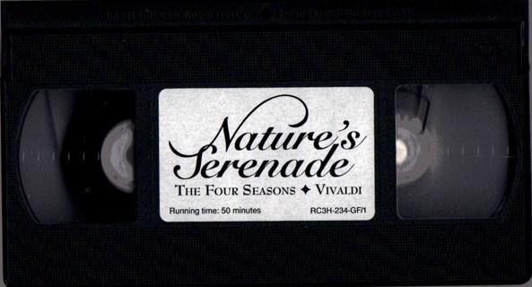 1991 VHS NATURES SERENADE